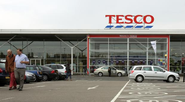 Tesco said the payouts were awarded after 'financial targets ... were met almost fully'