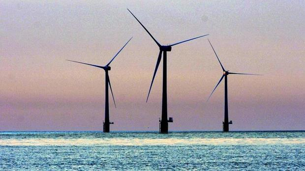 The Hywind project will see five turbines operate in waters around 12-18 miles off the coast of Peterhead, Aberdeenshire