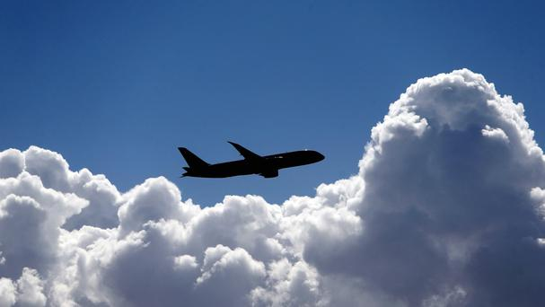Falling air fares led to a drop in inflation