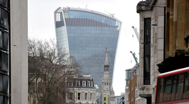 The firm behind the Walkie Talkie skyscraper reported positive results