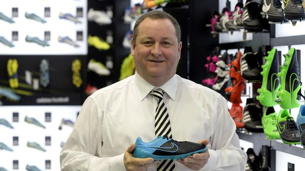 Sports Direct founder Mike Ashley made the offer in a letter to MPs