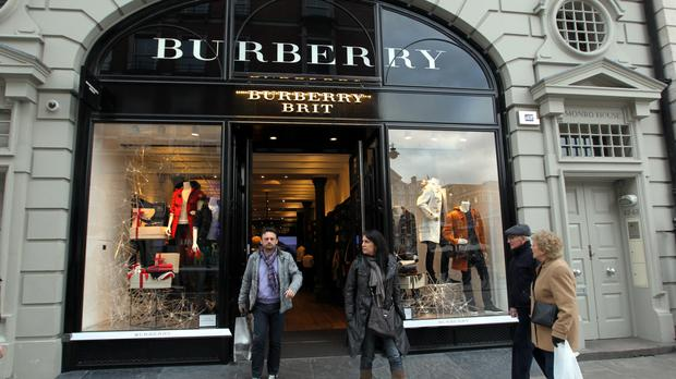 Last month Burberry said fourth-quarter sales had been hit by lower spending by Chinese tourists in continental Europe