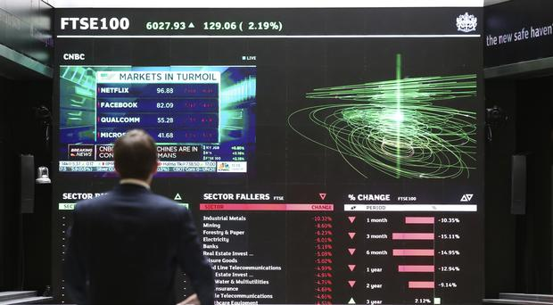 The FTSE 100 Index opened 27.8 points lower at 6140