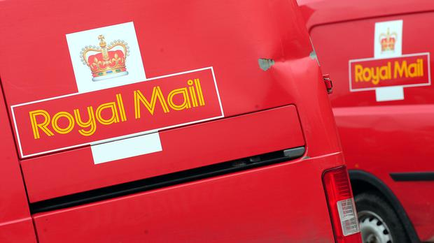 Royal Mail said the fall reflects one-off items such as pension charges that distorted its balance sheet