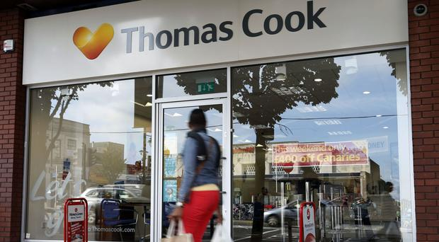Thomas Cook said demand for trips to Belgium and Turkey is 'significantly' down on last year