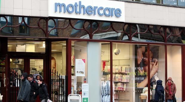 Mothercare saw like-for-like sales in the UK rise 3.6% and online sales rocketed by 15%