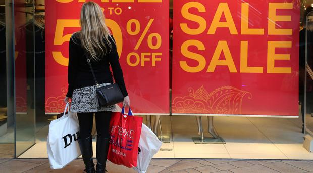 The Office for National Statistics said retail sales increased by 1.3%