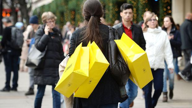 The Office for National Statistics (ONS) said retail sales increased by 1.3% compared with March, and were also 4.3% higher than a year earlier