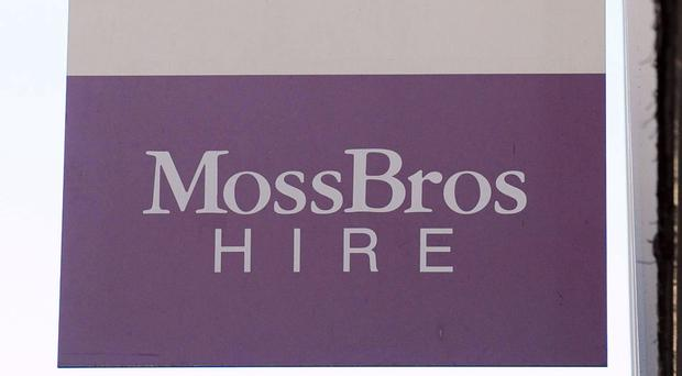 Moss Bros has bucked the trend, reporting sales growth