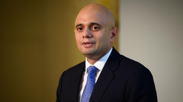 Sajid Javid has been accused of privately supporting Brexit