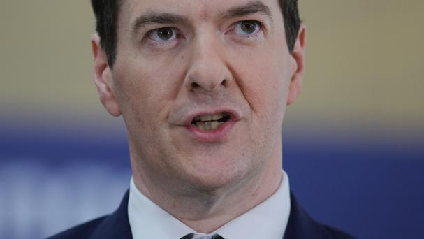 Chancellor George Osborne has overshot his borrowing target by £3.8 billion