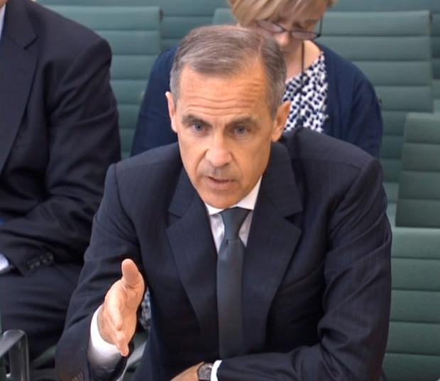 Bank of England chief Mark Carney