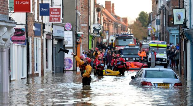 The average cost of each domestic claim for the floods caused by Storms Desmond, Eva and Frank is around 50,000 pounds
