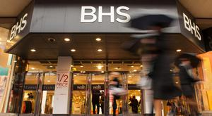 Administrators to Derbyshire-based CUK Clothing and Courtaulds, which are behind the Pretty Polly tights brand, blamed their collapse on the demise of BHS