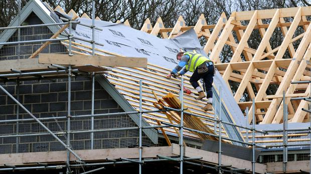 Some 32,950 housing completions were recorded between January and March