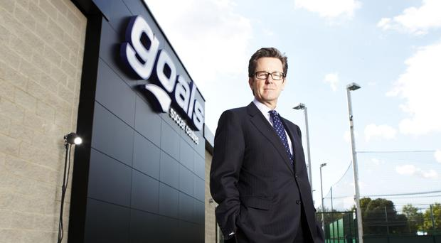 Keith Rogers is in charge of Goals Soccer Centres' growing US business