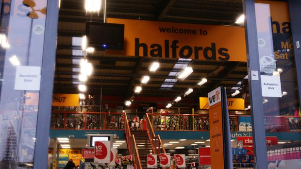 Halfords posts annual results on Wednesday