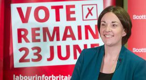 Scottish Labour leader Kezia Dugdale highlighted the value of EU membership to young people