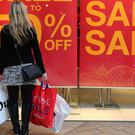 Shoppers have been able to pay less for their goods than the year before for just over three years
