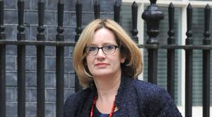 """Energy Secretary Amber Rudd will say the intervention in the referendum campaign by the manufacturing companies is a """"wake-up call""""."""