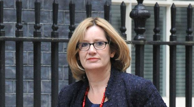 Energy Secretary Amber Rudd will say the intervention in the referendum campaign by the manufacturing companies is a