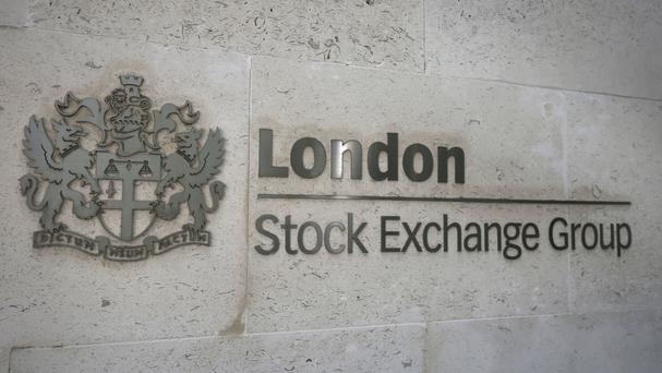 The FTSE 100 Index was 32.1 points lower at 6198.9