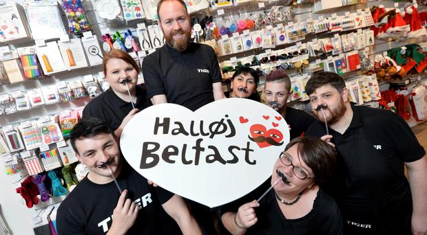 Workers at Belfast's Tiger, which has been compared to Ikea's marketplace section