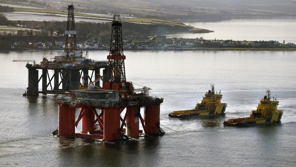 Scottish firms have been particularly badly hit by falls in oil prices, a survey found