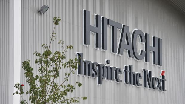 The Hitachi factory in Newton Aycliffe, County Durham - the Japanese firm's chairman has warned against Brexit