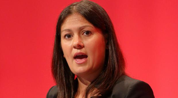Shadow energy and climate change secretary Lisa Nandy addressed the annual conference of the GMB in Bournemouth