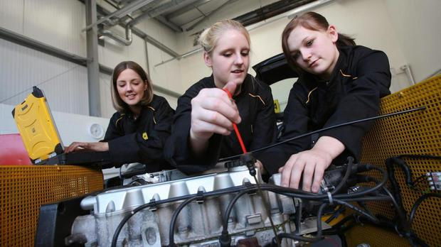The gender gap in the industry is still huge, with just 9% of the UK's engineering workforce being female