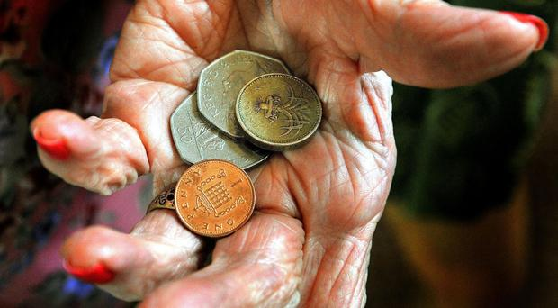 Experian found that 30% of people aged over 55 say they are already in a financially uncomfortable position