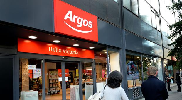 Like-for-like sales at Argos edged 0.1% higher in the 13 weeks to May 28