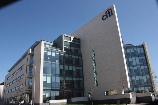 Citigroup's office in the Titanic Quarter