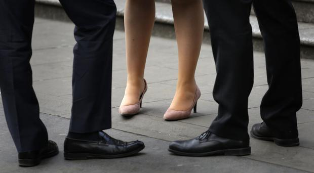 The expectation of female employees more closely