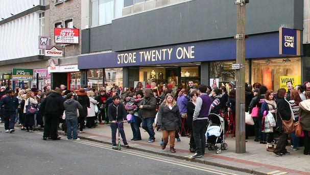 Store Twenty One has around 200 stores and employs more than 1,000 staff