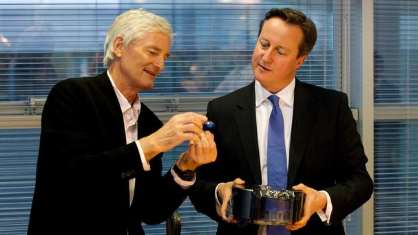 Sir James Dyson said David Cameron was fundamentally wrong for campaigning to stay in the EU