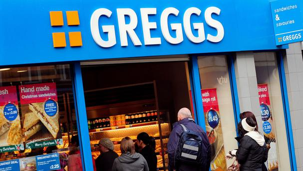 Greggs is seeing a growing demand for its healthy eating range