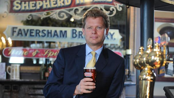 Shepherd Neame chief executive Jonathan Neame hailed 'another successful year'