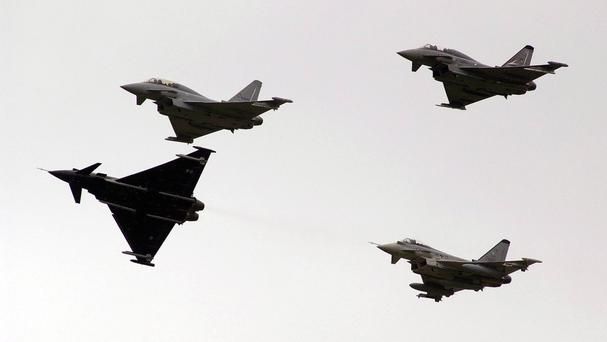 Saudi Arabia and the UAE are investing in Eurofighters, the report said
