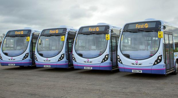 FirstGroup said it was set to make 'strong progress' despite ongoing tough trading