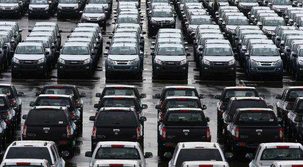 Brexit would result in a recession, which would hit car sales, a study has claimed