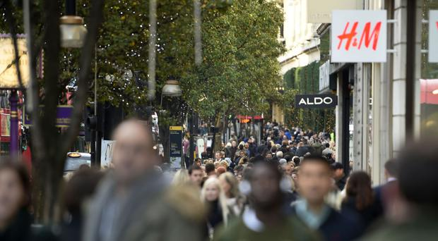 Shops like those on Oxford Street could feel affect of Brexit, report suggests