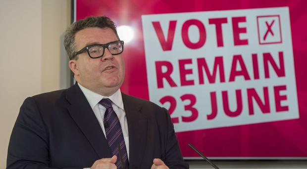 Tom Watson is backing a Remain vote