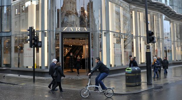 The owner of Zara, Inditex, posted a 6% rise in net profits