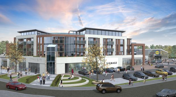 An artist's impression of what the new complex could look like