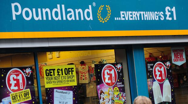 Poundland has seen its shares slump by a third in a year following tough trading and a difficult takeover of rival 99p Stores