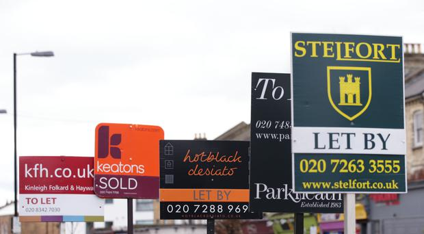 A new report says the cost of renting property went down in May