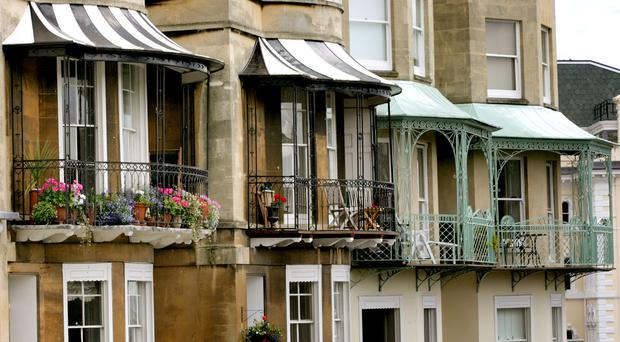 The desirable Clifton Village area of Bristol attracts young professionals.