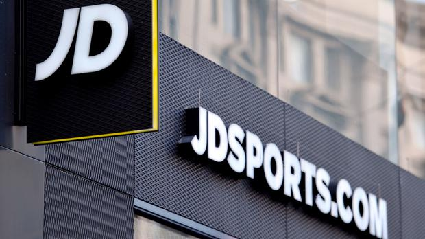 JD Sports' sales have been given a boost by the Euro 2016 football tournament